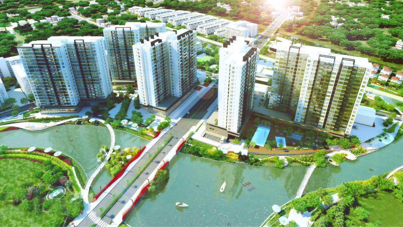 Phối canh toàn bộ dự án Mizuki Park