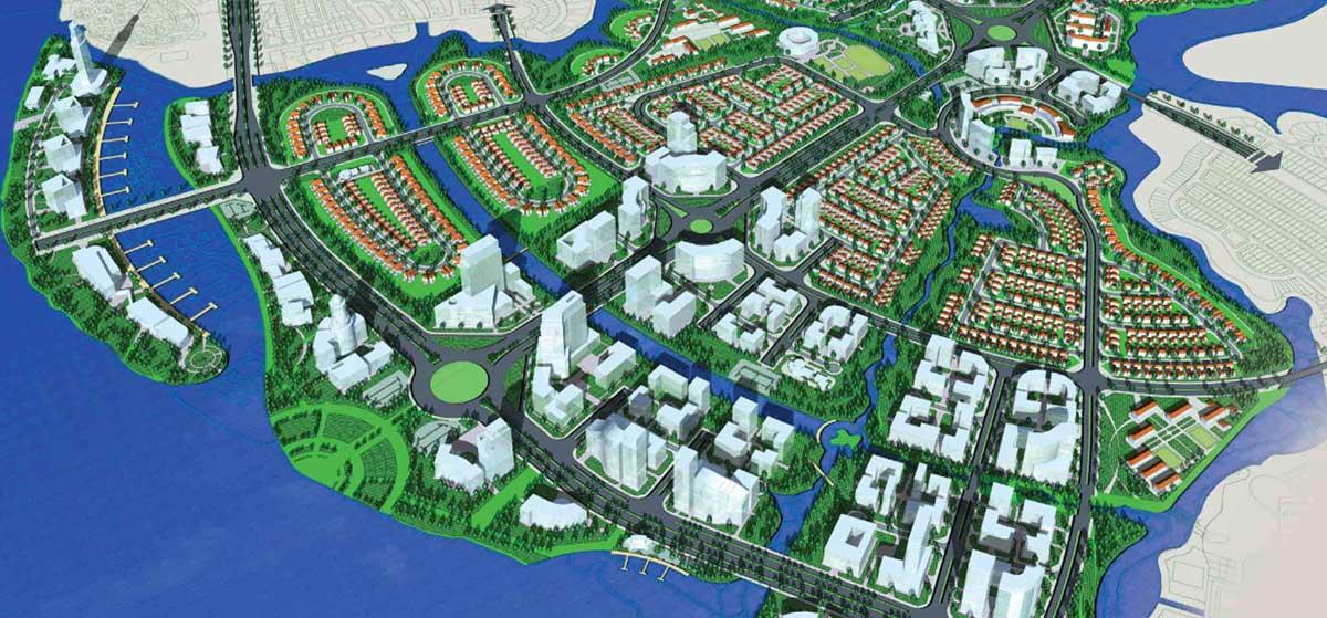 Dự án Waterfront City Nhơn Trạch