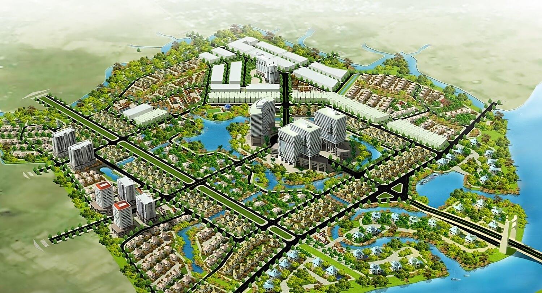 Dự án Green Village Khang Điền Bình Chánh PHOI CANH TONG THE GREEN VILLAGE 1