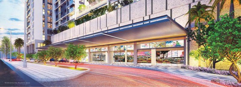 Sảnh siêu thị Co-op Mart Extra tại Urban Hill