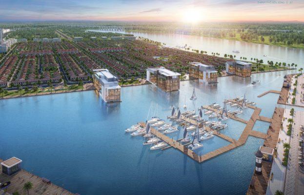 Đô thị vệ tinh Long An hút đầu tư bất động sản