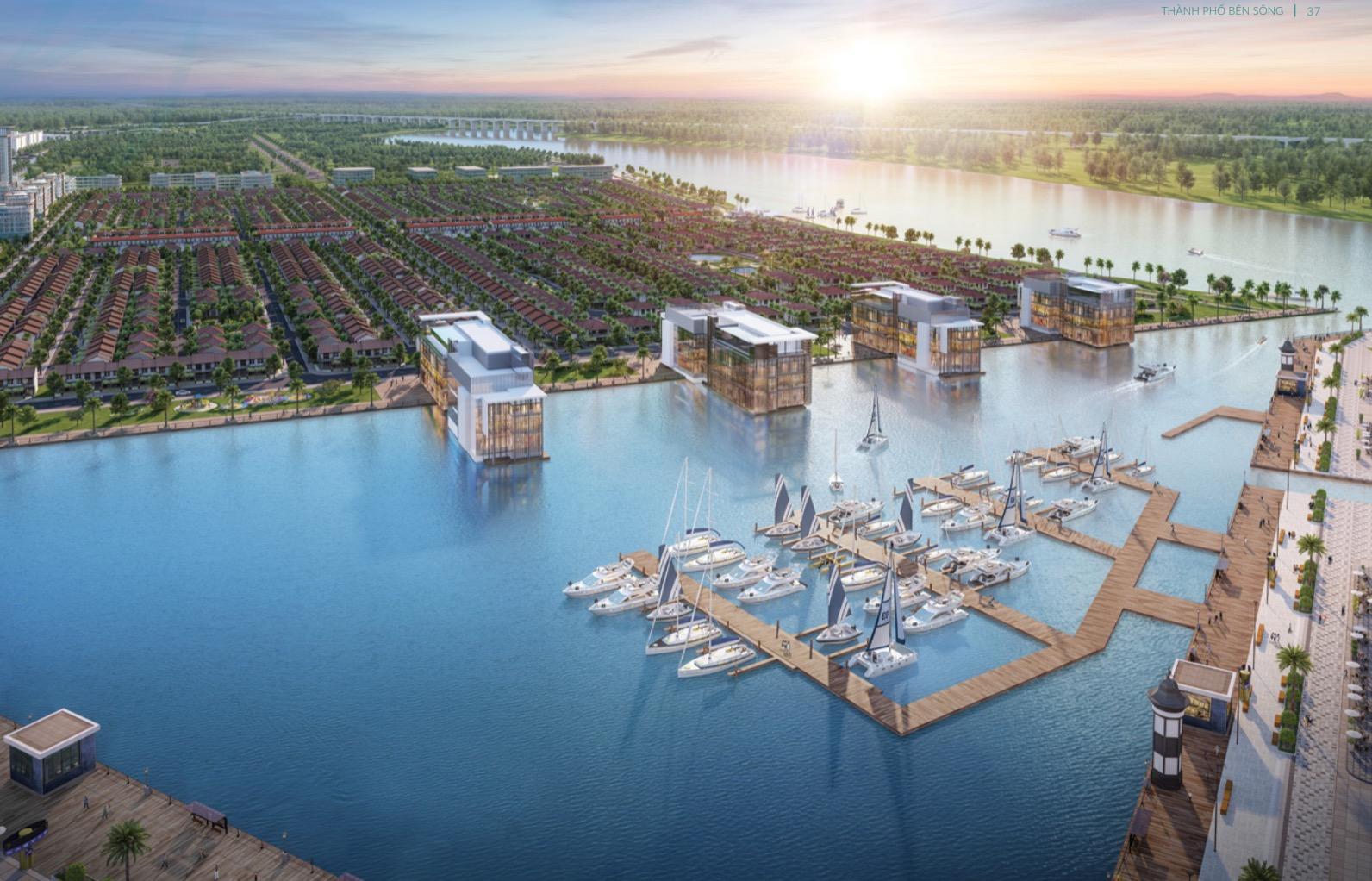 Đô thị vệ tinh Long An hút đầu tư bất động sản 3