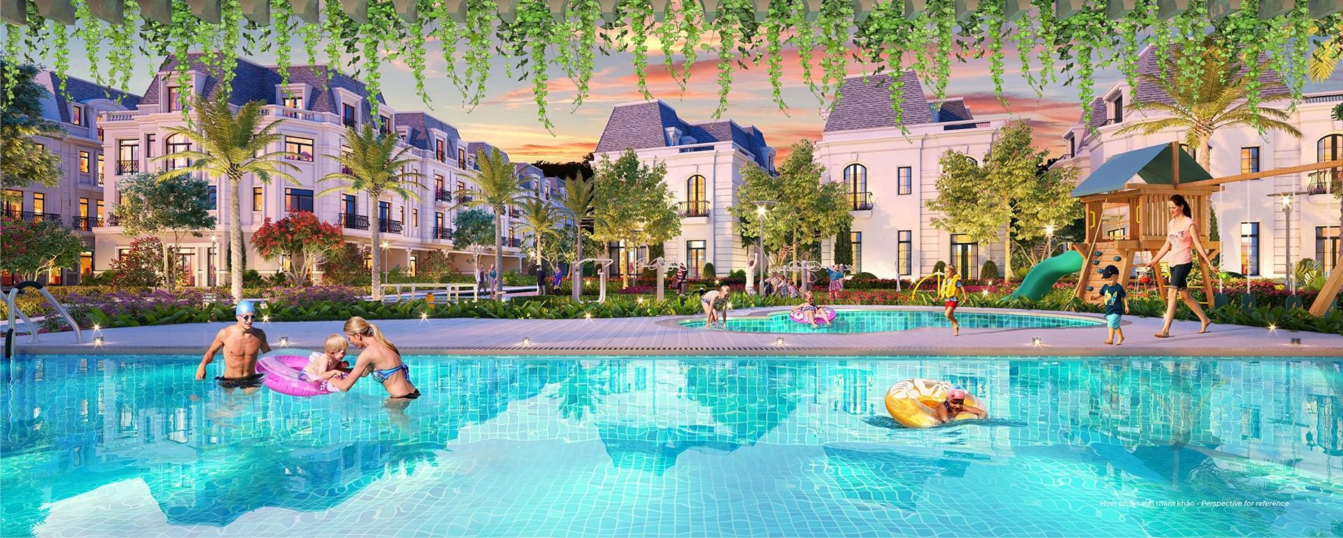 tiện ích hồ bơi Amelie Nhà Bè