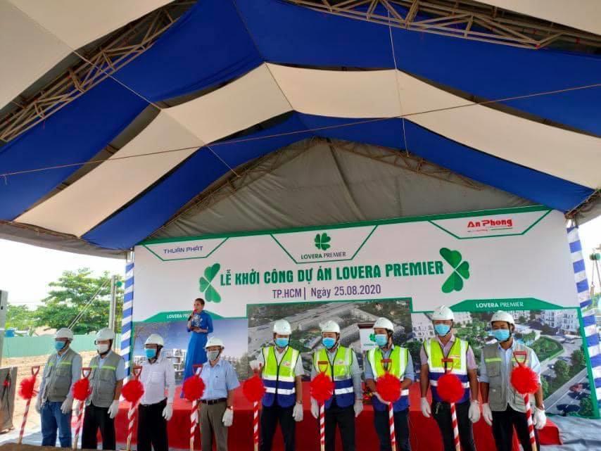 Khang Điền chính thức khởi công Lovera Premier Bình Chánh KHOI CONG LOVERA PREMIER 1 2