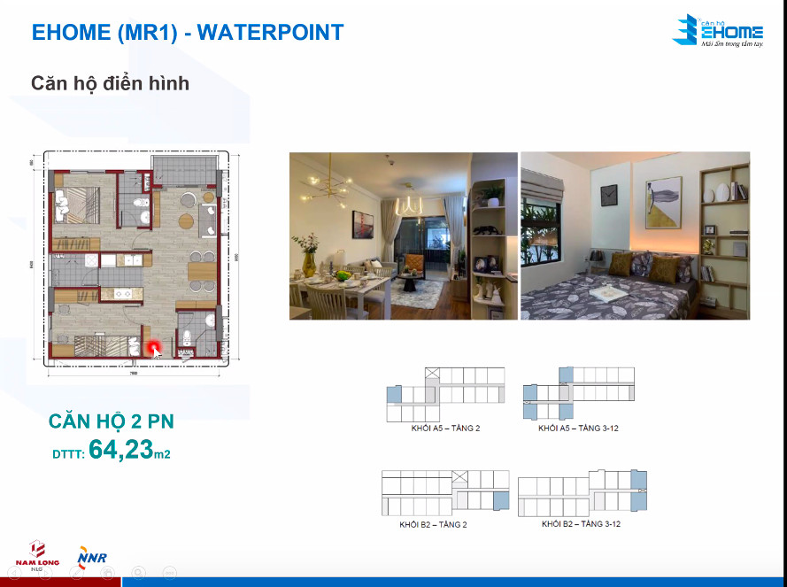 Căn hộ Waterpoint Ehome Southgate